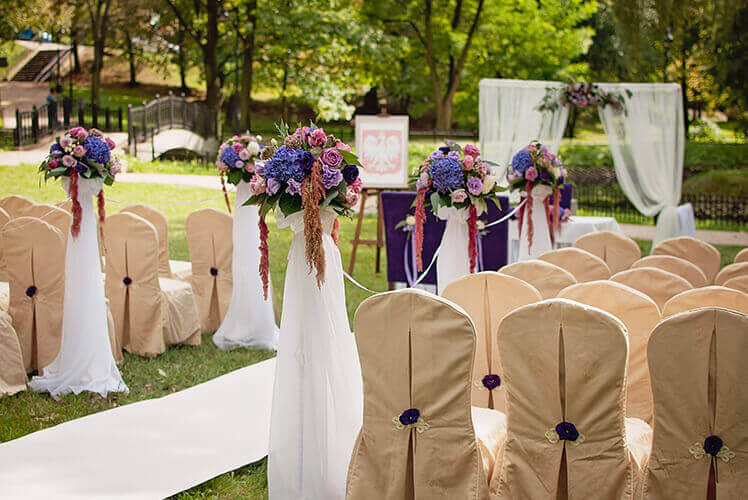 wesele w parku